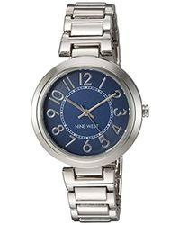 Nine West - Easy To Read Dial Bracelet Watch - Lyst