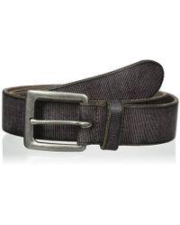 John Varvatos - Leather Harness Buckle Belt - Lyst