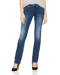 08b8139b Tommy Hilfiger Sandy Straight Fit Jeans in Blue - Lyst