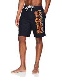Superdry - Boardshort Pantalones Cortos para Hombre - Lyst