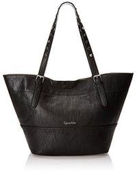 Calvin Klein - 4 Ds Novelty Tote Shoulder Bag - Lyst
