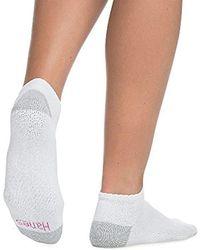 Hanes - 10 Pairs Cushioned Sole Low Cut Socks Sz: 9-11 Fits Shoe 5-9 - Lyst
