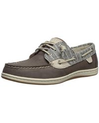 Sperry Top-Sider - Songfish Painterly Stripe Boat Shoe - Lyst