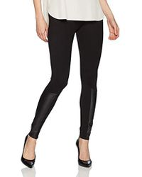 Jones New York - Legging W/faux Leather Insert - Lyst