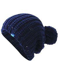 Keds - Chunky Knit Pom Beanie - Lyst