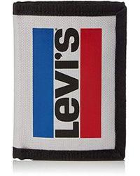Levi's - Olympic Branding Trifold, 's Purse, Grey (light Grey), 1x12x9 Cm (w X H L) - Lyst