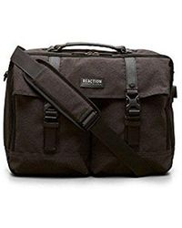 """Kenneth Cole Reaction - Polyester Top Zip 15.6"""" Computer Case With Usb Charging Port And Rfid Laptop Bag - Lyst"""