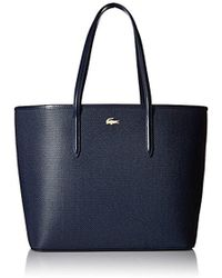 Lacoste - Chantaco Zip Shopping Bag - Lyst
