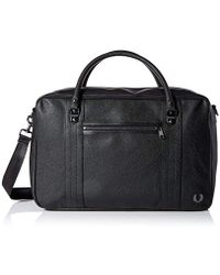 Fred Perry - Scotch Grain S Holdall Black - Lyst