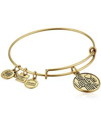 ALEX AND ANI - Charity By Design My Love Is Alive Bangle Bracelet - Lyst