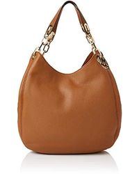 0d0820268aac18 Michael Michael Kors Fulton Double Chamber Tote Bag in Brown - Lyst