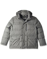 Kenneth Cole - Novelty Printed Down Jacket - Lyst