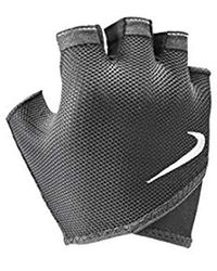 Nike 9092/59 Gym Essential Fitnes Gants Temps Froid, 010 Black/White - Noir