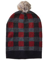 Lyst - Anna Kula Knit Slouchy Hat for Men bb7c8ee9b40c