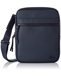 f41d489f22 Lacoste Sac Homme Access Basic Shoulder Bag in Brown for Men - Lyst