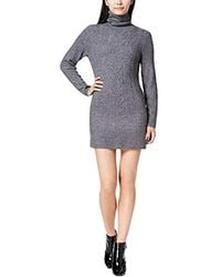 Kensie - Cable Knit Sweater Dress - Lyst