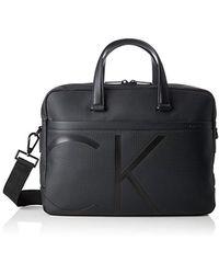 Giorgio Armani Raised Logo Messenger Bag in Black for Men - Lyst 588c652e3caba