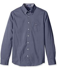 GANT - Dobby Oxford Shirt - Lyst