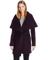 T Tahari - Marla Wool Coat With Oversized Collar New Name: Marylin - Lyst