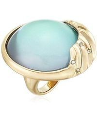 Alexis Bittar - Crystal Studded Sculptural Sphere Cocktail Ring - Lyst