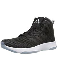 552fa21cebb adidas Neo Cf Executor Mid Basketball-shoes in Blue for Men - Lyst