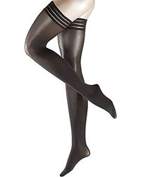 Falke - Pure Matte 50 Stayup Thigh High Stocking, - Lyst