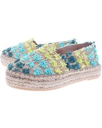 Guess - Ladies Slipper Slippers Espandrilles Nature - Lyst