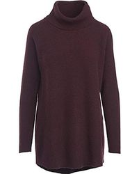 Woolrich - Clapshaw Cowl-neck Tunic Sweater - Lyst