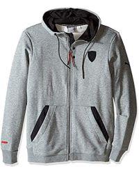 PUMA - Ferrari Hooded Sweat Jacket - Lyst