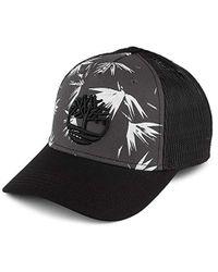 fc5d6d9a2d7ba8 Timberland Black Iris 6 Panel Baseball Cap in Black for Men - Lyst