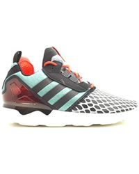 9646cd52 adidas Zx Flux Shoes White/core Black/tomato B27457 for Men - Lyst