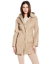 Anne Klein - Turn-key Raincoat - Lyst