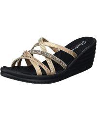 Skechers - 31777 Open Toe Sandals - Lyst
