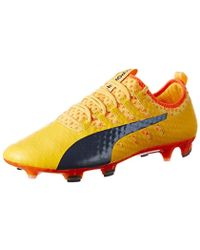separation shoes 16b80 aed0e PUMA - Evopower Vigor 1 FG, Chaussures de Football Homme - Lyst