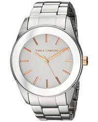 Vince Camuto - Vc/5343svrt Silver-tone Bracelet Watch - Lyst