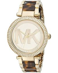 a7da0909cdefe Michael Kors Mk3748 - Blakely in Metallic - Lyst