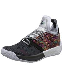 ea8b0f8086c46d adidas Basketball X Harden Vol 2 All American Sneakers In Red Ah2124 ...