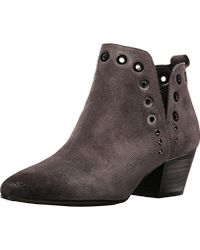 Sam Edelman Women's Rubin Phantom Grey/Velutto Suede Lea M