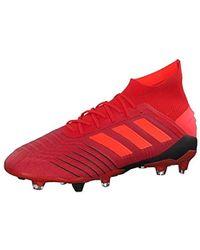 298cefcc88468 adidas 's Predator 18.1 Fg Football Boots in Blue for Men - Lyst
