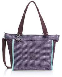 f66f30fcdb8b Kipling S New Shopper S Shoulder Bag in Black - Lyst