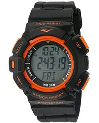 Everlast - Hr4 Heart Rate Monitor Watch With Transmitter Belt - Lyst