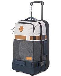 Rip Curl - F-light Transit Lightweight Wheel Roller Carry On Bag, - Lyst