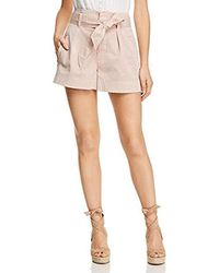 Ella Moss - Paperbag Shorts - Lyst