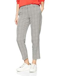 Dorothy Perkins - Check Ankle Grazer Trousers - Lyst
