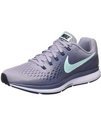 4b1828e024d55 Nike  s W Air Zoom Pegasus 34 (w) Running Shoes in Pink - Lyst