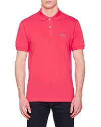 Lacoste - T-Shirt Polo Uomo - Lyst