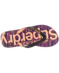 Superdry - Scuba Flip Flop - Lyst