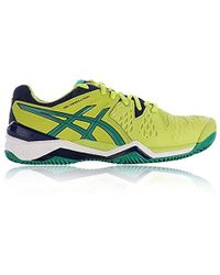 1c00b9634 Asics Gel-resolution 7 Clay Tennis Shoes in Black for Men - Save 22% - Lyst
