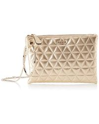 3faa1c2fbb9 Guess Pwnyls P7163 Pochette Accessories Bianco Women s Clutch Bag In ...