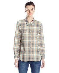 Pendleton - Jaime Plaid Shirt - Lyst